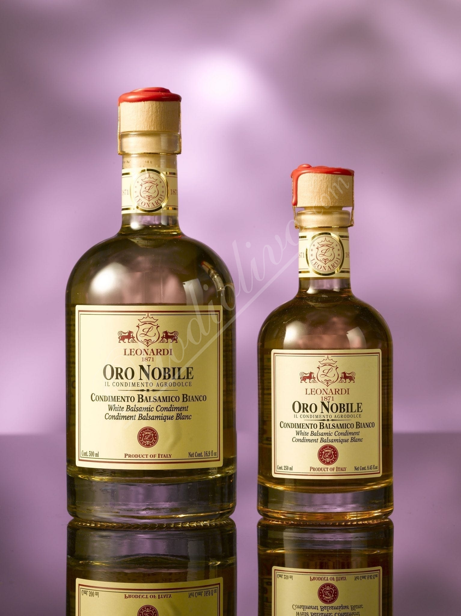 "White balsamic vinegar ""Oro Nobile"" 250ml"