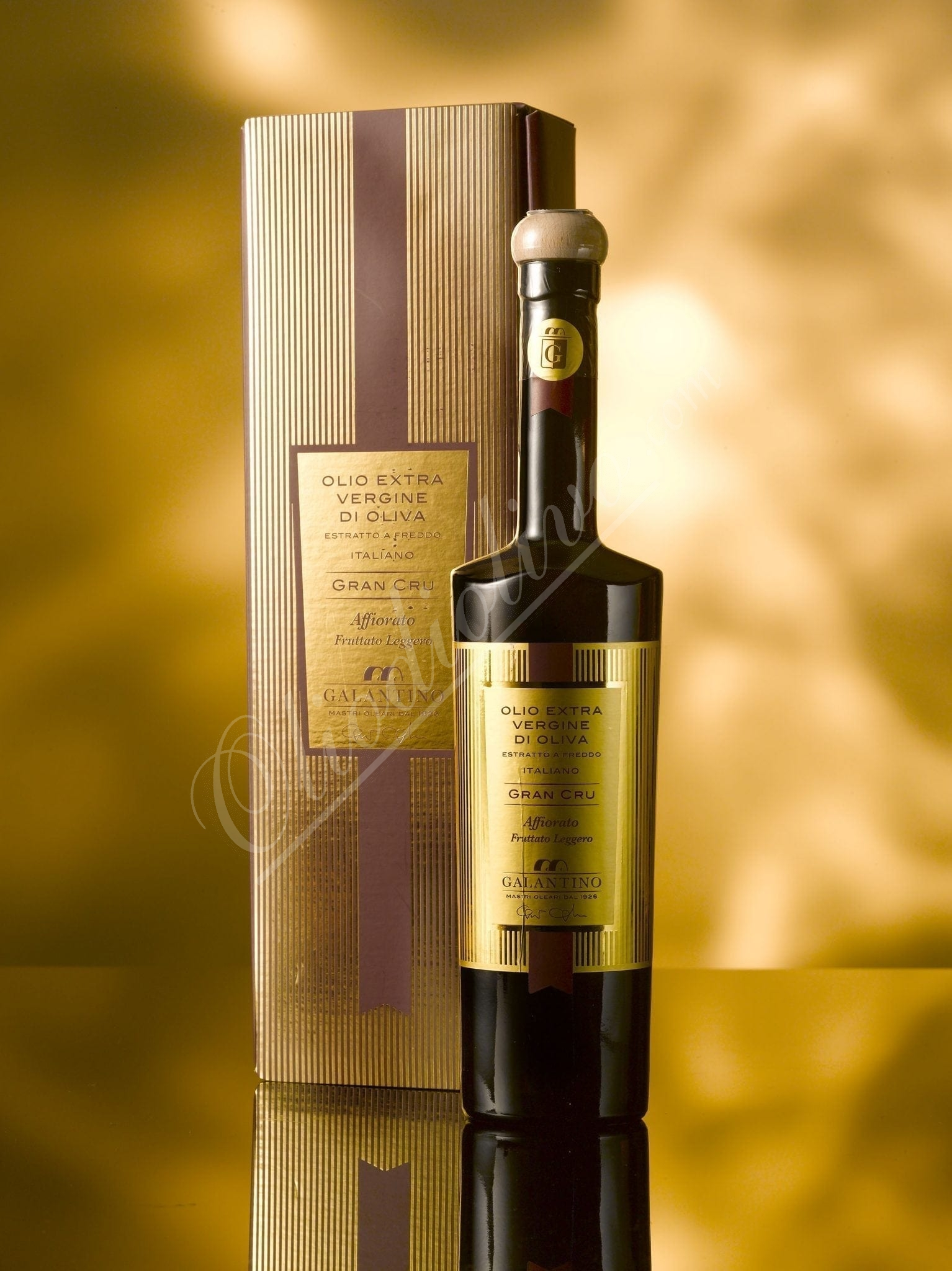 Grand cru in box, Galantino, limited edition olive oil, Puglia, 500ml