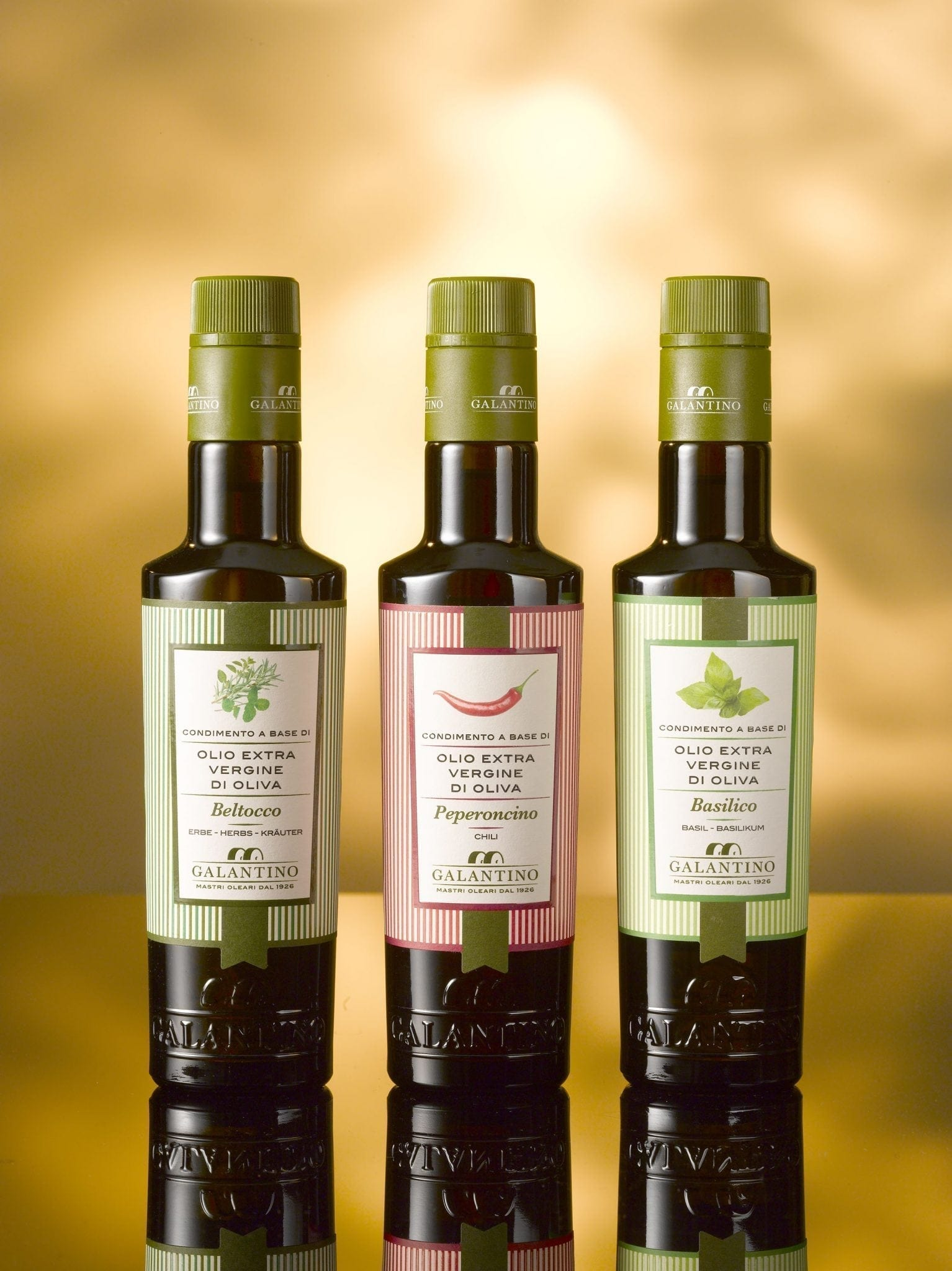 Galantino, olive oil with basil 250 ml
