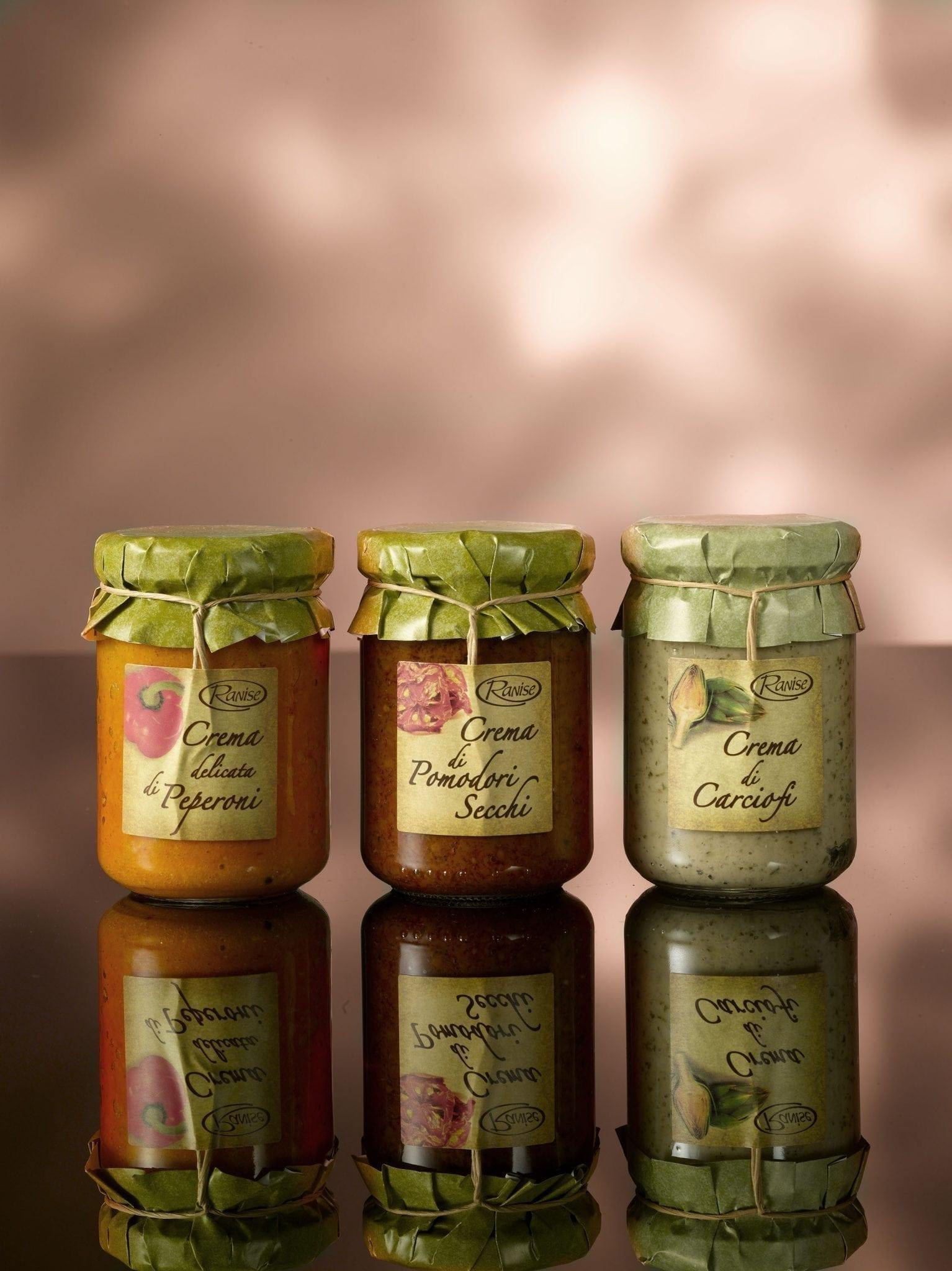 Ranise, paprika crème 130 gr