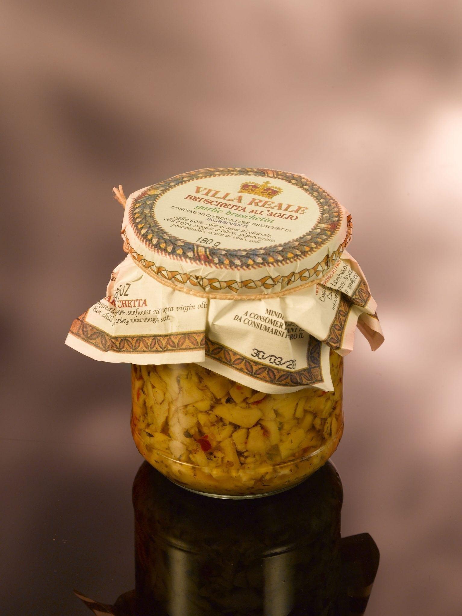 Ville Reale, garlic bruschetta 180 gr