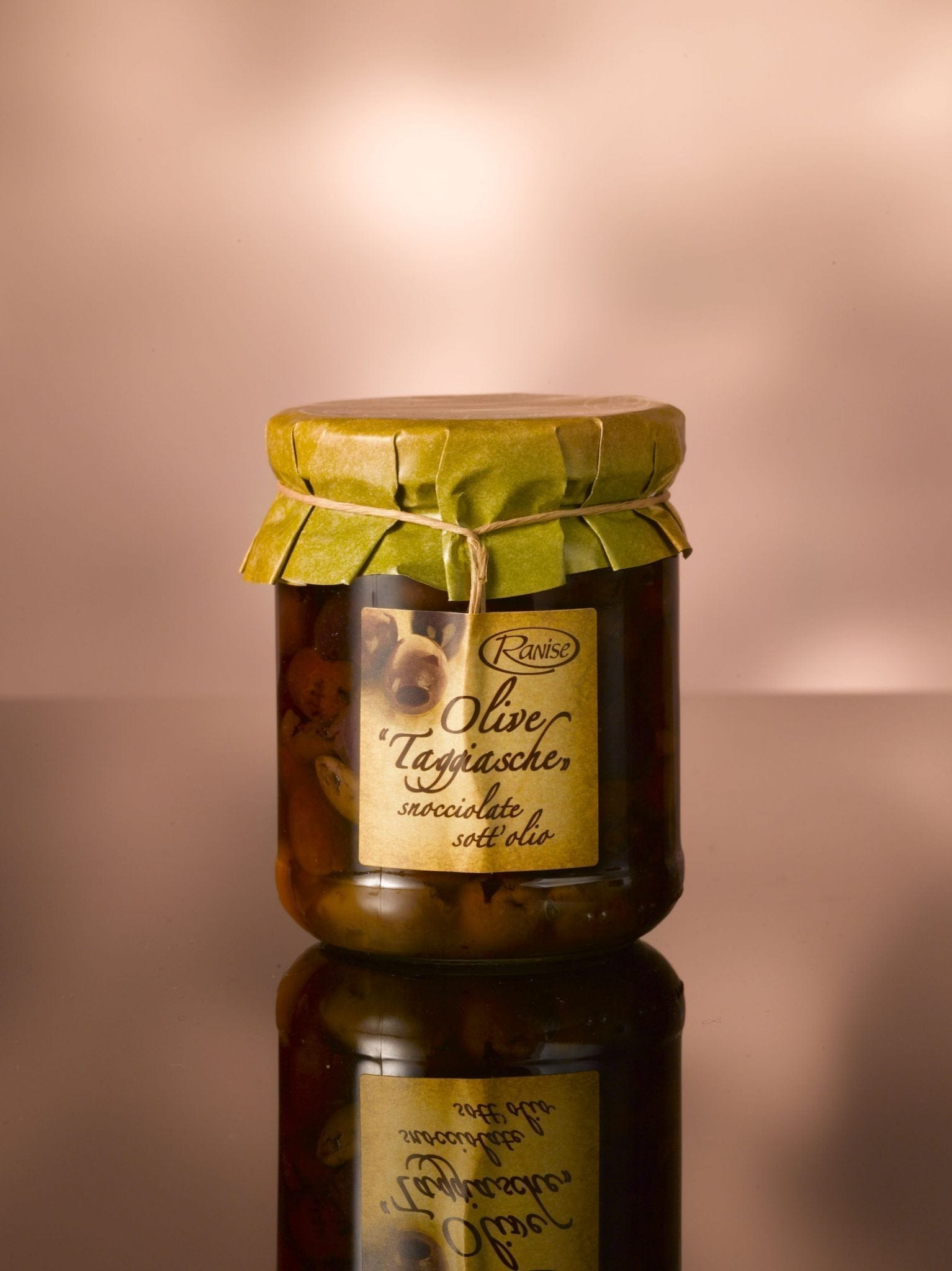 Ranise Taggiasca olives without kern 180 gr