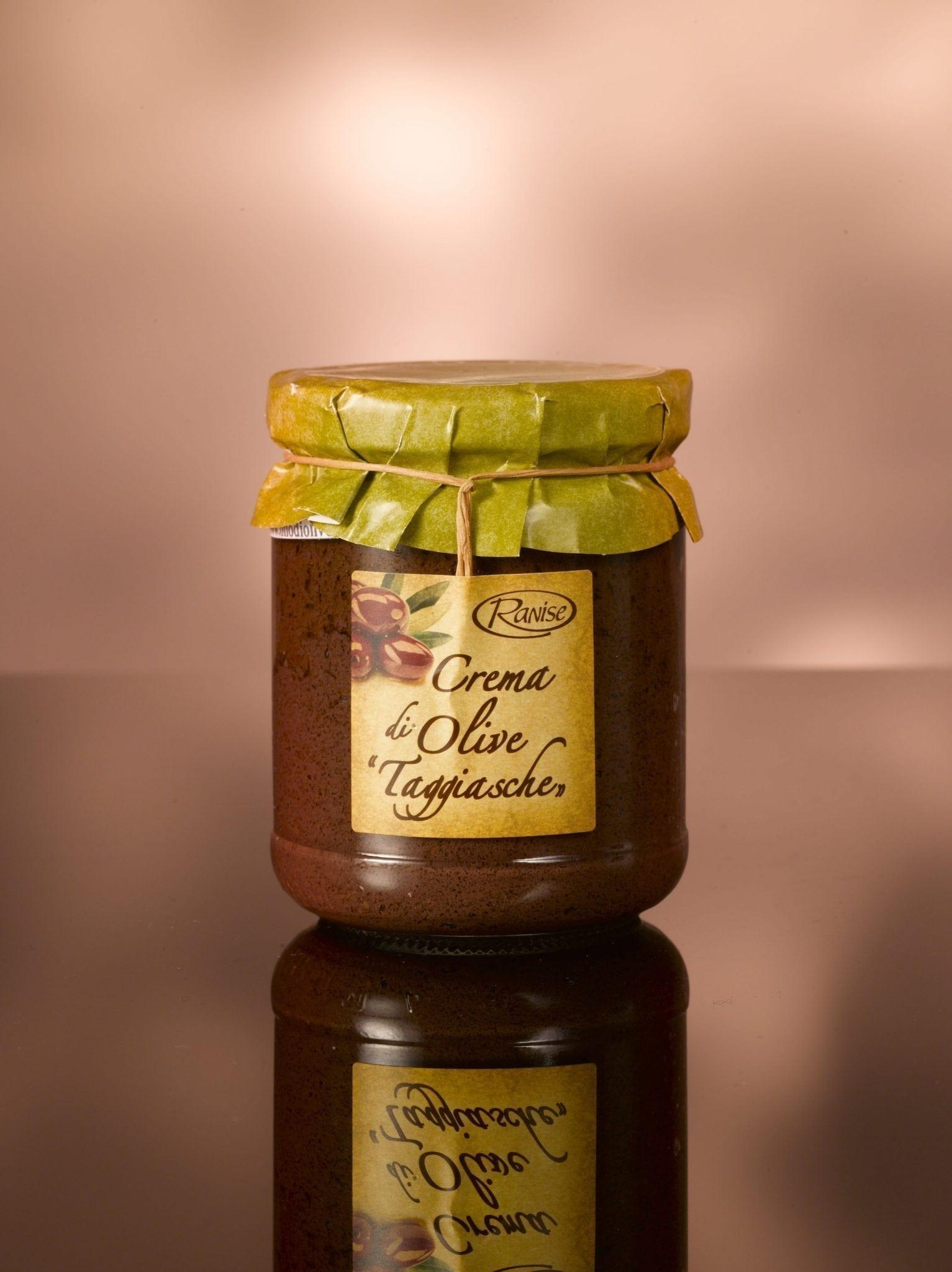 Ranise Taggiasca olive creme 180 gr