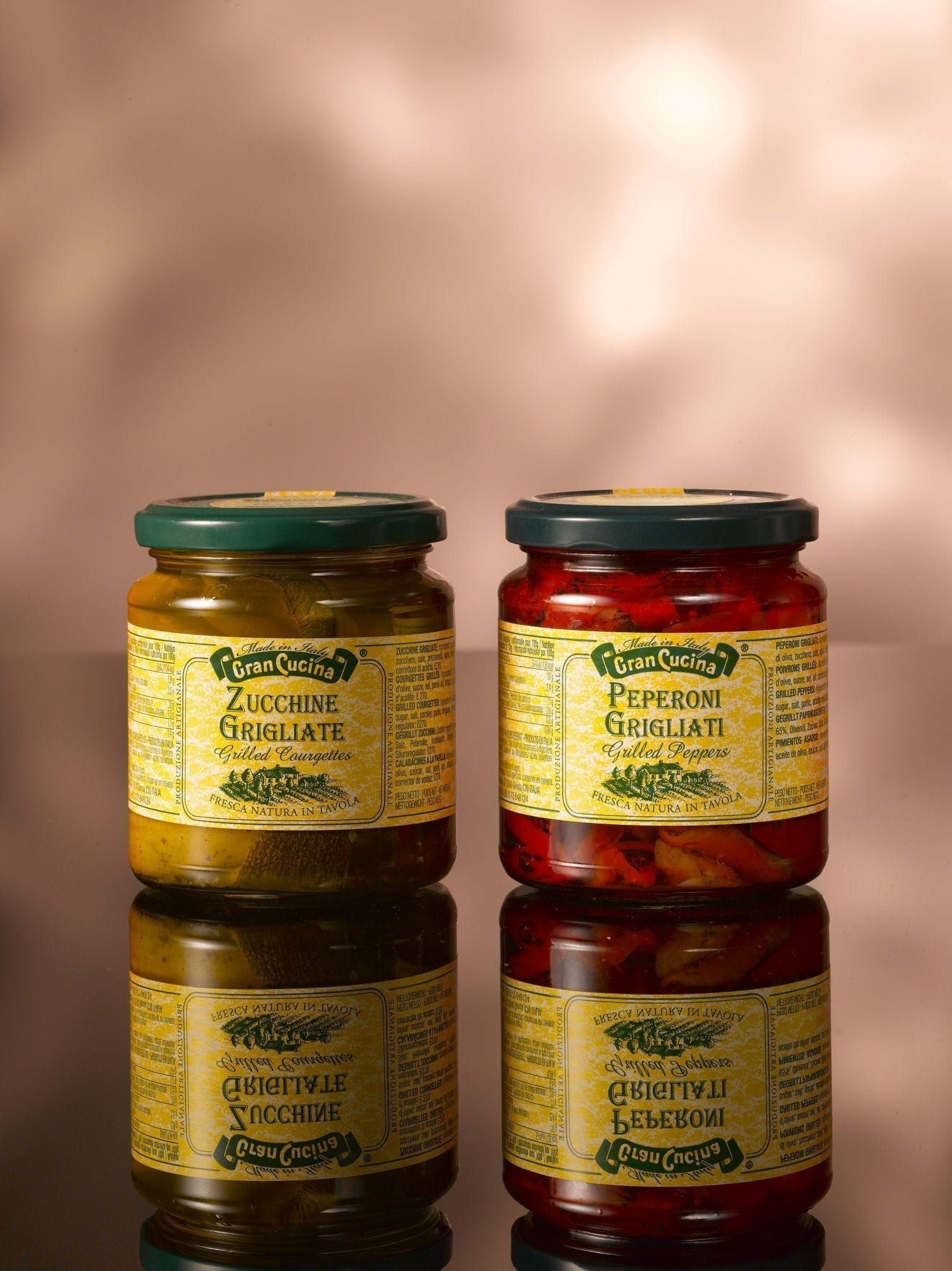 Cran Cucina, grilled peppers in olive oil 280 gr