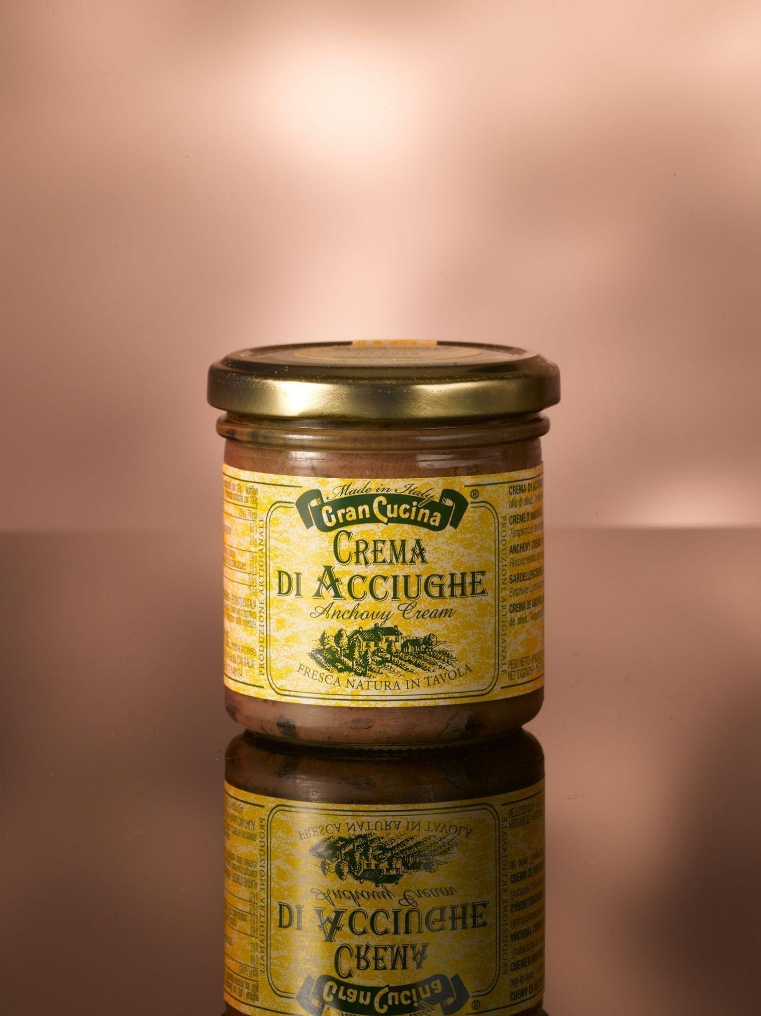 Gran Cucina, anchovy cream 180 gr