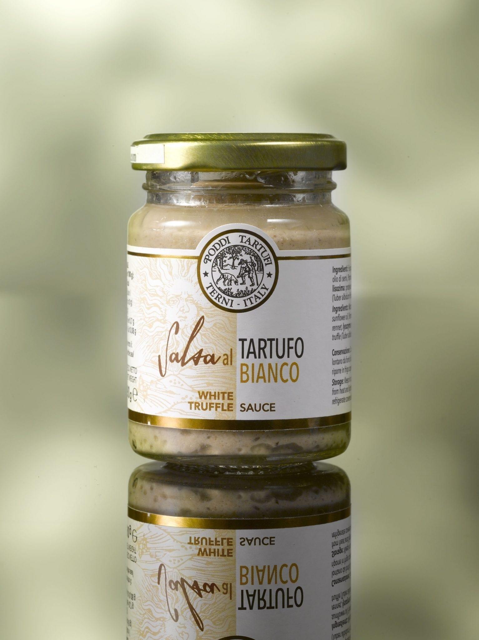 White truffle sauce, Poddi Tartufi 90 gr