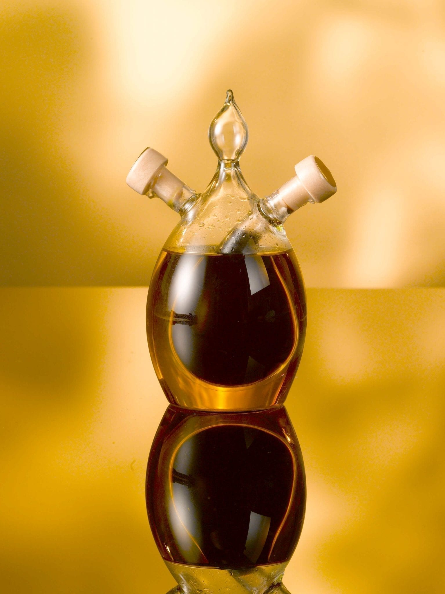 Olive oil and balsamic vinegar, 100ml oil/40 ml Balsamic