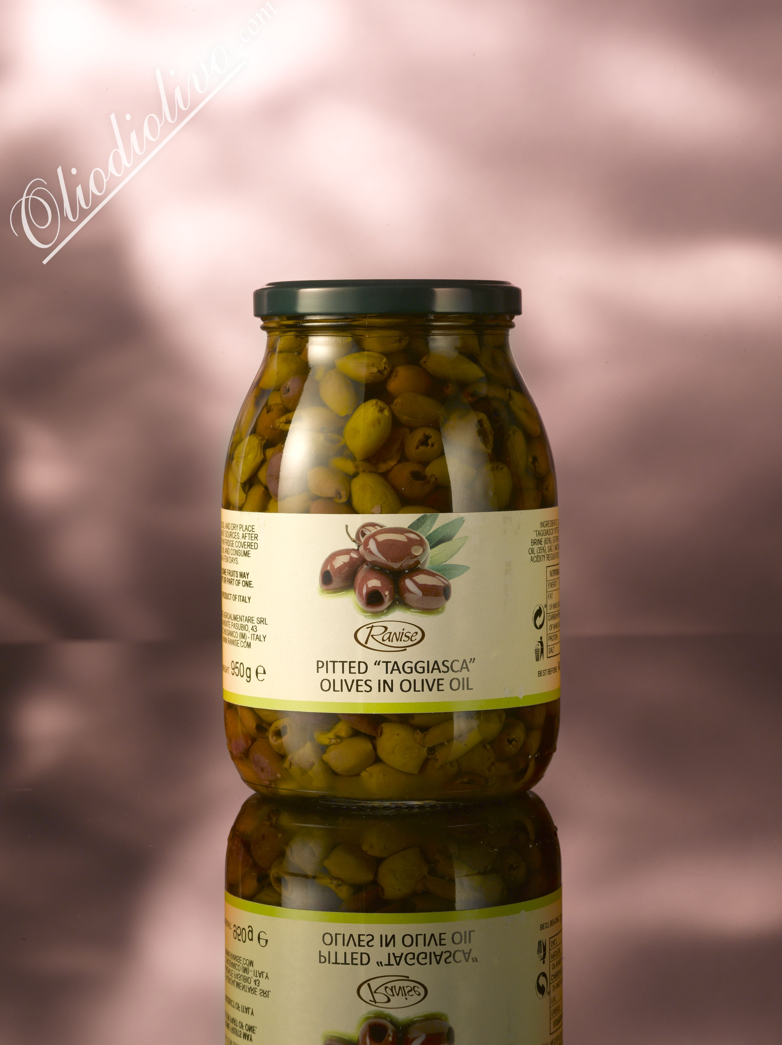Ranise Taggiasca olives without kern 950 gr