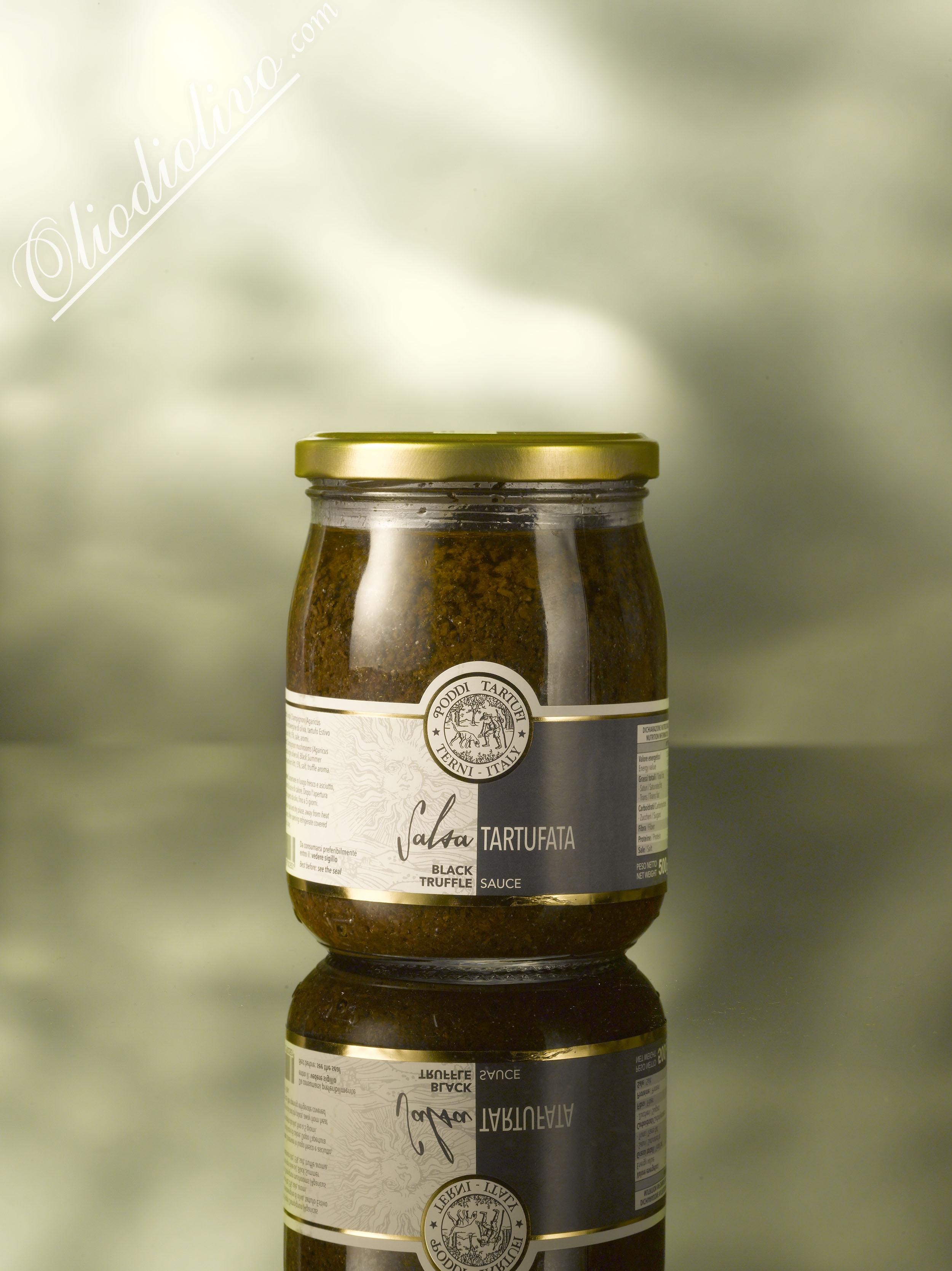 Black truffle sauce,  Poddi Tartufi 500 gr